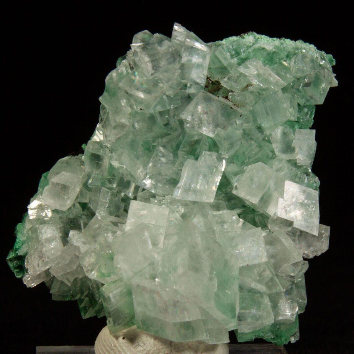 Calcite with Malachite