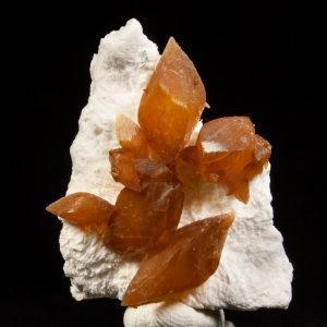 Calcite on Mordenite