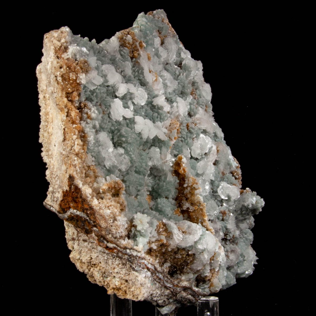 Hemimorphite with Calcite