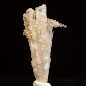 Scolecite with Calcite