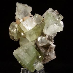 Apophyllite, Scolecite, and Stilbite